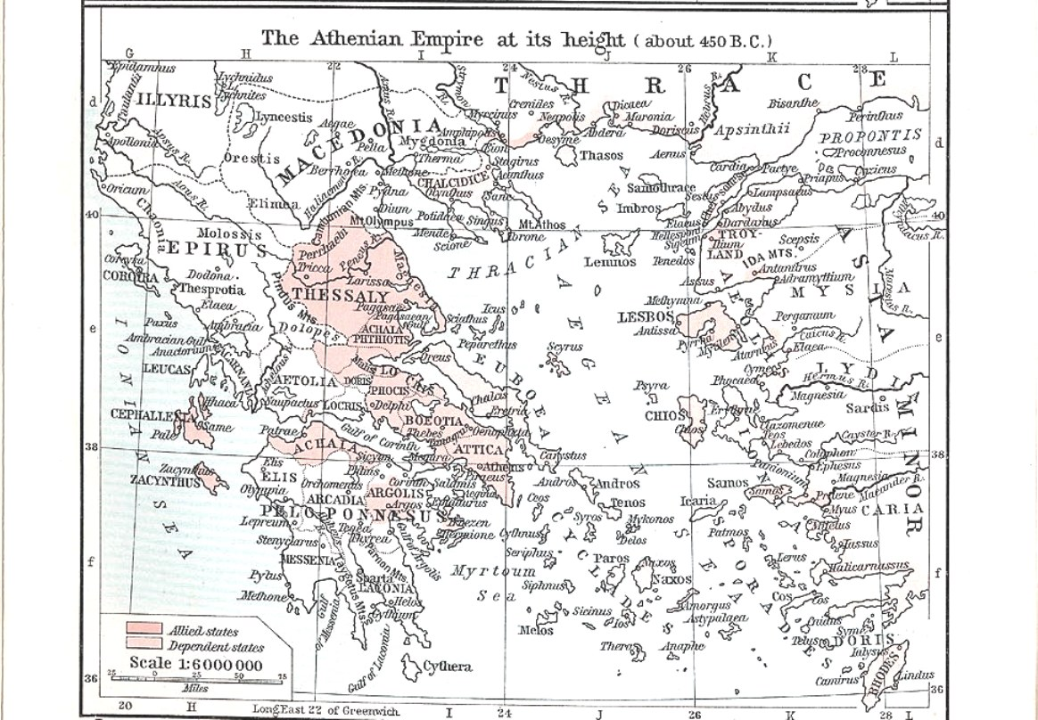 Athenian empire ps People   Ancient Greece: Alexander The Great