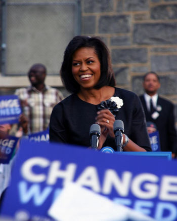 michelle obama and college thesis