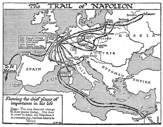 The Trail of Napoleon - J.F. Horrabin - Map.jpg