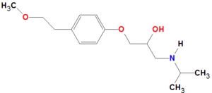 Spectrophotometric Determination of Metoprolol Tartrate in ...