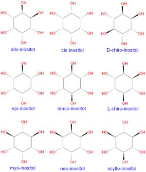 Isomer d chiro inositol