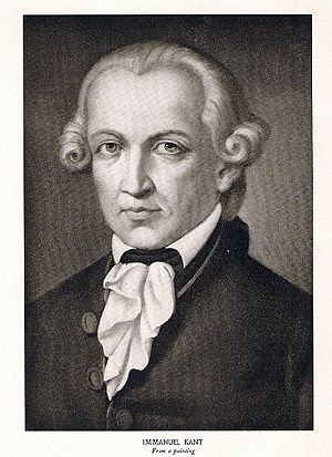 Immanuel Kant by Karl