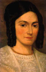 Emma Hale Smith, Joseph's first wife, whom he married in 1827.