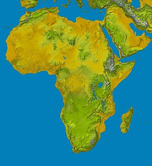 Nasa image of africa photo public domain