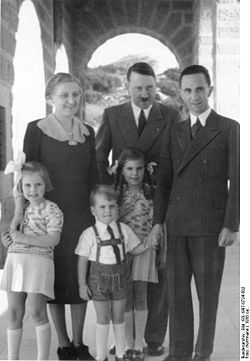 goebbels hitler relationship with niece