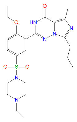 Levitra mechanism of action