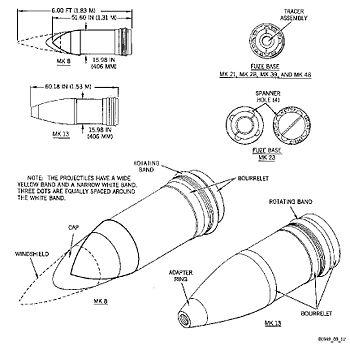16 50 caliber mk 7 naval gun encyclopedia article. Black Bedroom Furniture Sets. Home Design Ideas