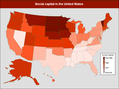 social capital in america In broken communities, the focus should be on social capital -- not just the  at  the numbers this idea that things are horrible in much of america just isn't true.