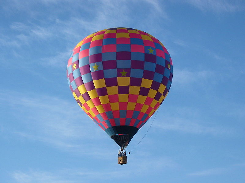 hot air balloon flight - photo #1