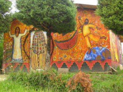 Milpa agriculture encyclopedia article citizendium for Mural zapatista